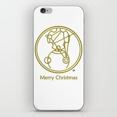 Merry Christmas from Gallifrey iPhone & iPod Skin