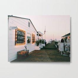 Malibu at Sunset Metal Print