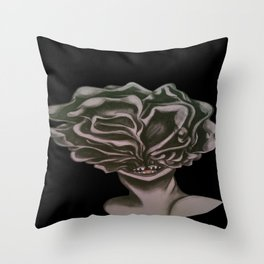 Clicker Bust Throw Pillow