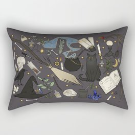 Witch's things Rectangular Pillow