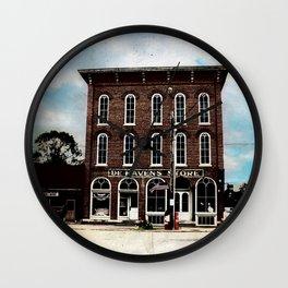 De Haven's Store Wall Clock