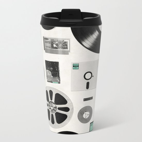 Data Metal Travel Mug
