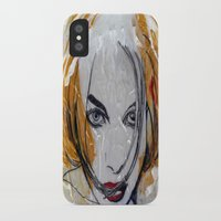 blondie iPhone & iPod Cases featuring Blondie by Capracotta Art