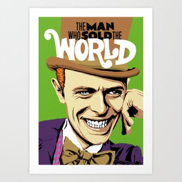 The Man Who Sold The World Art Print