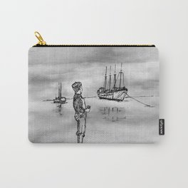 The Kid and the Ships Carry-All Pouch