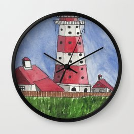 Coastal Tower Wall Clock