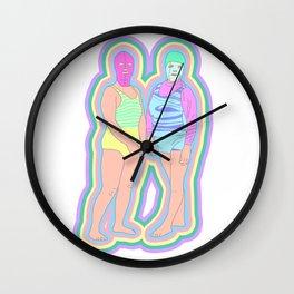 BEACH BAES Wall Clock