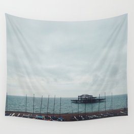 Brighton Old Pier Wall Tapestry