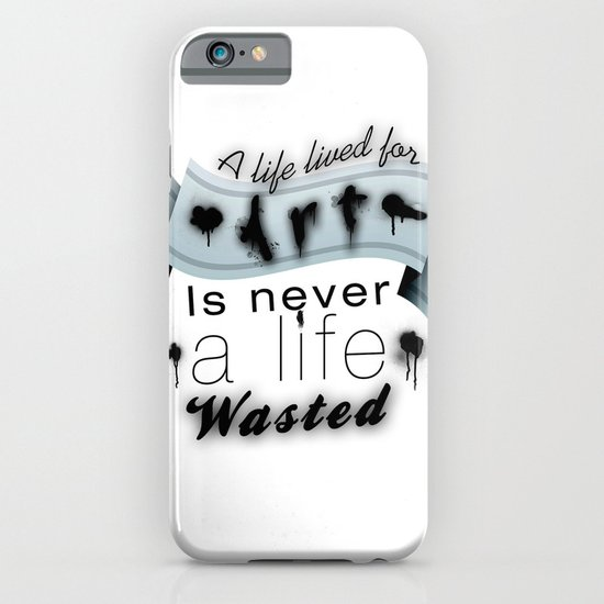 A life lived for art. iPhone & iPod Case