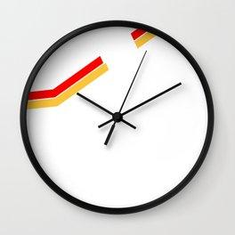 The Strokes Logo Striped Julian Casablancas Wall Clock