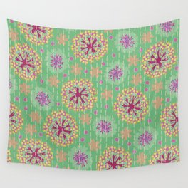 Kantha floral 8 Wall Tapestry