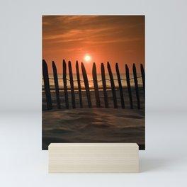 Sunset in the Lowlands Mini Art Print
