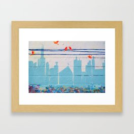 City Unity Framed Art Print