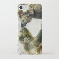 bears iPhone & iPod Cases featuring Bears by Julie Hoddinott