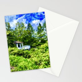 Oasis in the Trees Stationery Cards