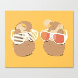 Cool Potatoes Canvas Print
