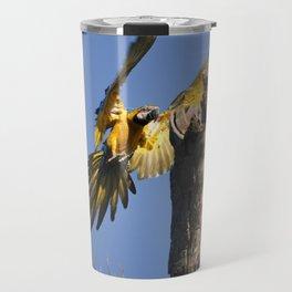Birds from Pantanal Arara Canindé Travel Mug
