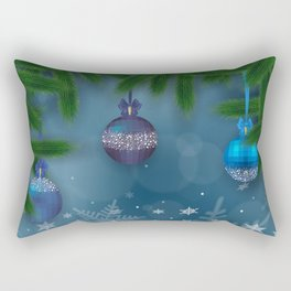 Christmas background Rectangular Pillow