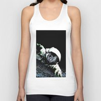 interstellar Tank Tops featuring Interstellar by Graziano Ventroni