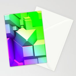 Poly Fun 3A Stationery Cards