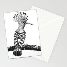 Hoopoe drawing Stationery Cards