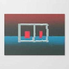 Subatomic Monuments Canvas Print