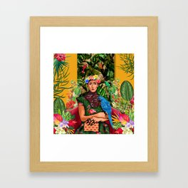 Holly Grace Framed Art Print