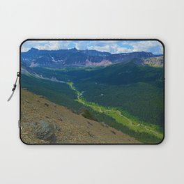 Views along the Bald Hills Hike in the Maligne Valley of Jasper National Park, Canada Laptop Sleeve