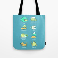 Know your parasites Tote Bag