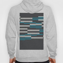 Rectangles Stripes grey background Hoody