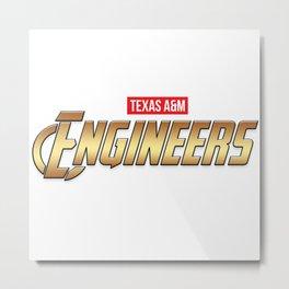 Texas A&M Engineers Metal Print