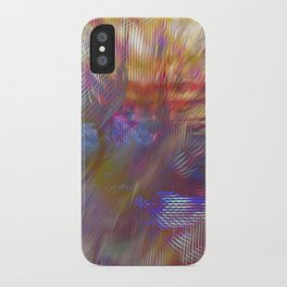Textural Mountains 2 iPhone Case