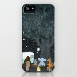 camping time iPhone Case