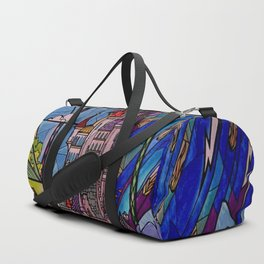 Castle Stained Glass Duffle Bag