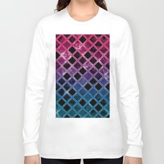 Abstract Geometric Background #16 Long Sleeve T-shirt