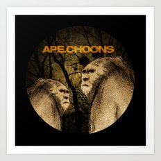 APE.CHOONS Logo Art Print
