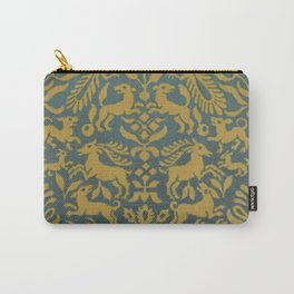 Animal Tapestry Carry-All Pouch