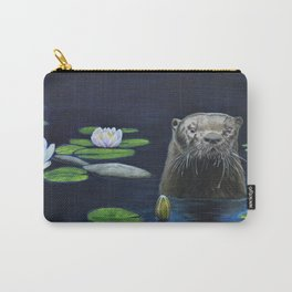 The River Otter by Teresa Thompson Carry-All Pouch