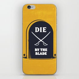 THE BLADE iPhone Skin