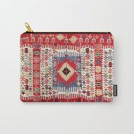 Sivrihisar Eskisehir Province Anatolian Kilim Carry-All Pouch