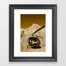 Copter Framed Art Print