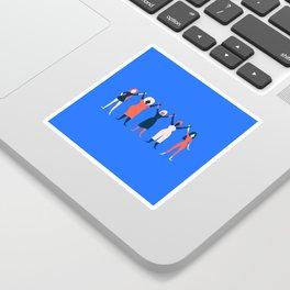 Girl Gang - Blue Sticker