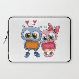 Owl Couple Laptop Sleeve
