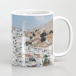 Lindos, Rhodes Coffee Mug