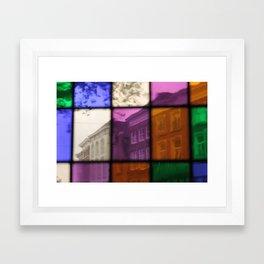 Street View  - JUSTART © Framed Art Print