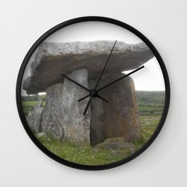Poulnabrone Dolmen - Angled Wall Clock
