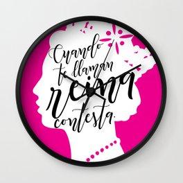 Reina Wall Clock