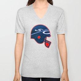 American Football Flag Unisex V-Neck