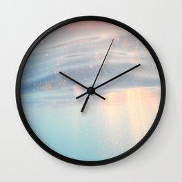 Ocean Light Water Wall Clock