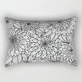 Flower Jungle Rectangular Pillow